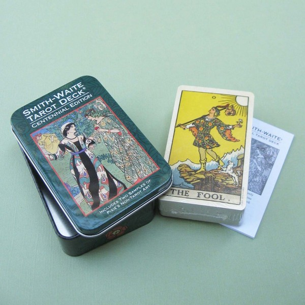 Smith-Waite-Centennial-Tarot-Deck-in-a-Tin-2-600×600