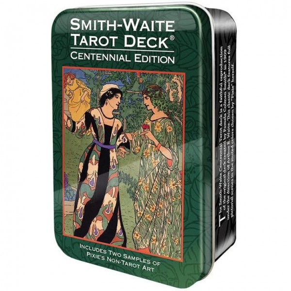 Smith-Waite-Centennial-Tarot-Deck-in-a-Tin-600×600