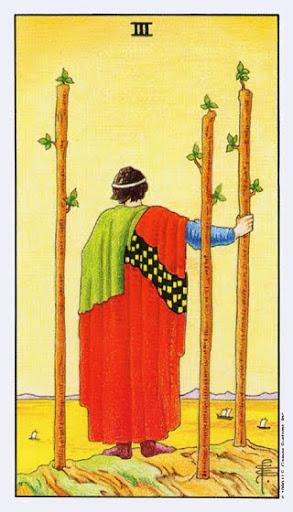 Ý Nghĩa Lá Bài Three of Wands Trong Tarot
