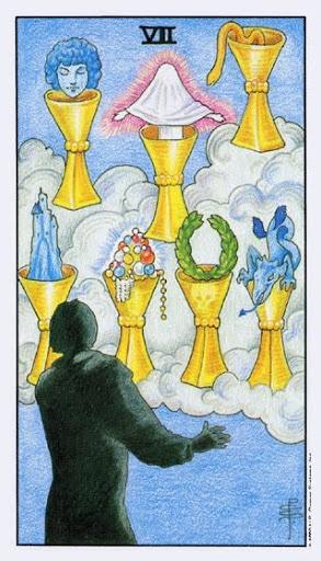 Ý Nghĩa Lá Bài Seven of Cups Trong Tarot