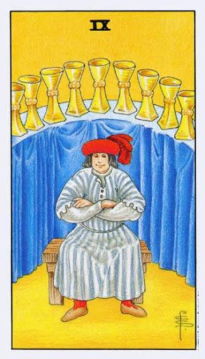 Ý Nghĩa Lá Bài Nine of Cups Trong Tarot