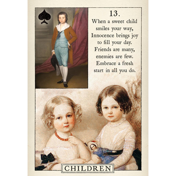 Blue Bird Lenormand 6