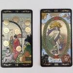 Golden Universal Tarot 5