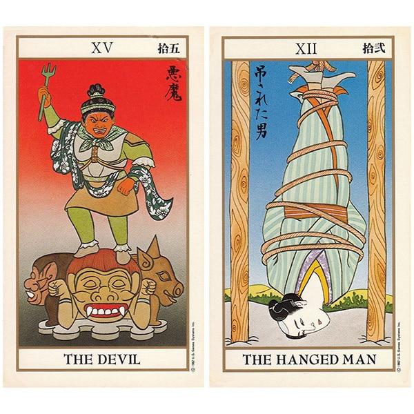 Ukiyoe Tarot 3