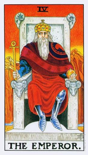 Ý Nghĩa Lá Bài IV - The Emperor Trong Tarot