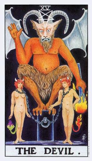 Ý Nghĩa Lá Bài XV - The Devil Trong Tarot