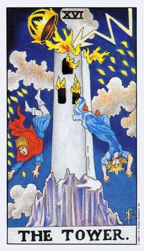 Ý Nghĩa Lá Bài XVI - The Tower Trong Tarot