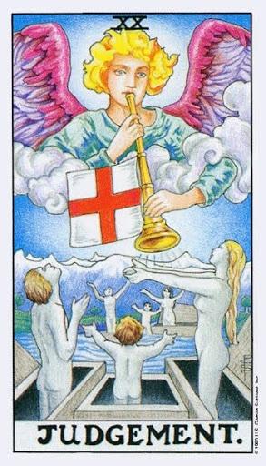 Ý Nghĩa Lá Bài XX - Judgement Trong Tarot