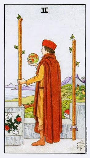 Ý Nghĩa Lá Bài Two of Wands Trong Tarot