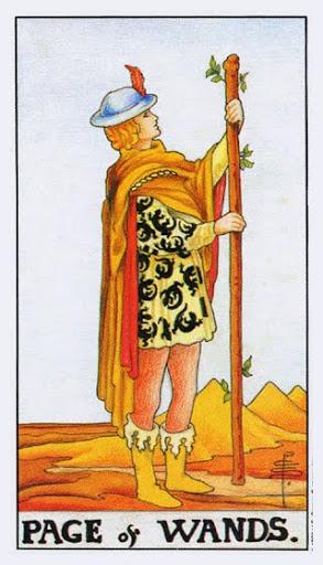 Ý Nghĩa Lá Bài Page of Wands Trong Tarot