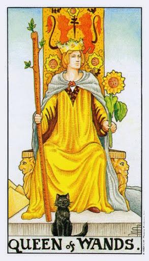 Ý Nghĩa Lá Bài Queen of Wands Trong Tarot