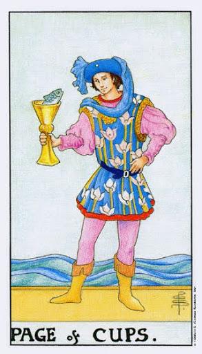 Ý Nghĩa Lá Bài Page of Cups Trong Tarot