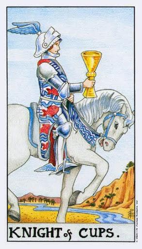 Ý Nghĩa Lá Bài Knight of Cups Trong Tarot