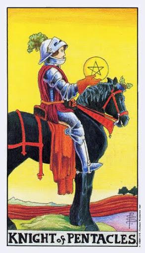 Ý Nghĩa Lá Bài Knight of Pentacles Trong Tarot