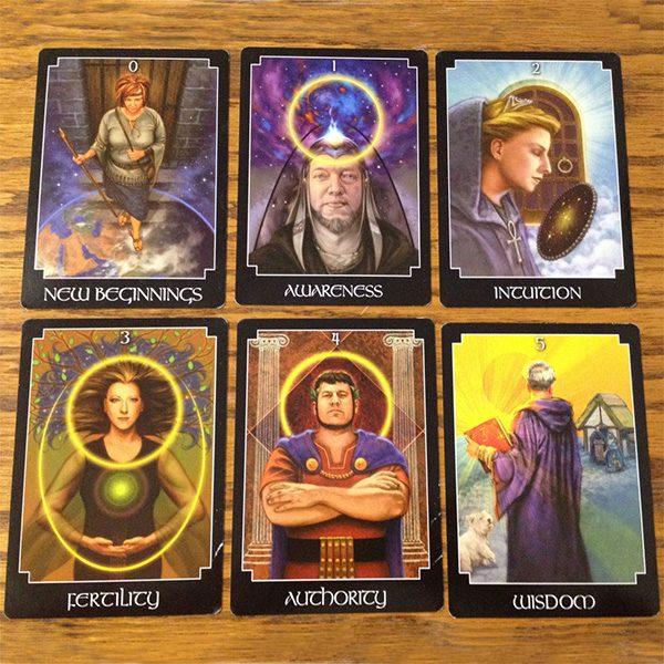 Psychic Tarot Oracle Deck 3